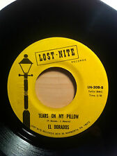 EL DORADOS TEARS ON MY PILLOW LOST NITE RECORDS 308 NORTHERN SOUL
