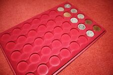 COIN TRAY/PLATTER FOR 40 COINS OR PLASTIC CAPSULES-NO COINS INCLUDE-DISPLAY ONLY