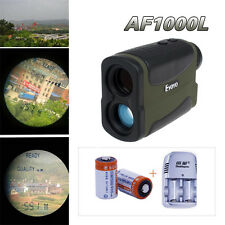 6xZoom Golf Laser Rangefinder Distance Speed Measurer Scope+2xBattery/Charger