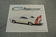 NOS 1969 Dodge Charger Daytona Art Picture Print Dealer Advertising MOPAR