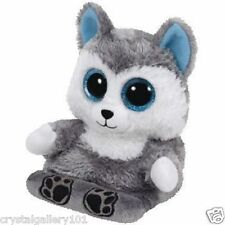 TY Beanie Babies Scout Husky Phone Holder Peek-A-Boos Screen Cleaner Bottom NEW