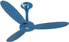 Orient Cyril 48'' Celing Fan( Azure Blue -Silver ) (Decorative Fan)