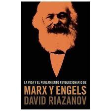 LA VIDA Y EL PENSAMIENTO REVOLUCIONARIO DE MARX - DAVID RIAZANOV (PAPERBACK) NEW