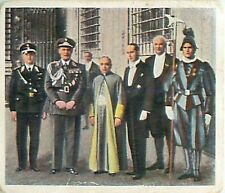 N°211 Hermann Göring German statesmen in Rome  Italy/Germany 1933 IMAGE CARD 30s