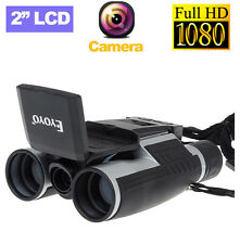 "2"" FS608 FHD 1080P LCD Video DVR Record 12X32 Digital Telescope Binocular Camera"