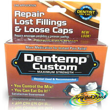 Dentemp Custom Tooth Filling Dental Teeth Fill Repair