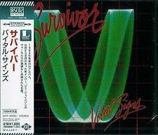 SURVIVOR VITAL SIGNS 2013 JAPAN RMST CD+1 - Blu-Spec CD2 High Fidelity Format