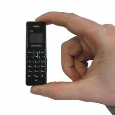 Zanco fly phone BLACK - The Worlds Smallest Phone,Voice Changer,100% - BRAND NEW