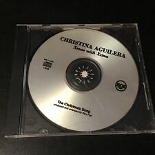 "RCA RECORDING STUDIO MASTER PROMO CD CHRISTINA AGUILERA ""THE CHRISTMAS SONG"""