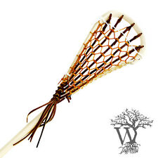 New Wooden Lacrosse Stick Field model Bootlace