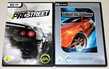 NEED FOR SPEED - PRO STREET & UNDERGROUND - 2 PC SPIELE BUNDLE