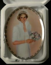 Princess Diana Plate Queen of our Hearts Royal Wedding Bradford Exchange, papers