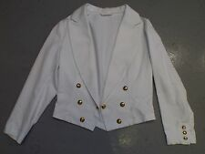 """WOMANS RAF ROYAL AIR FORCE NO.8 TROPICAL MESS DRESS OFFICERS JACKET - Bust: 36"""""""
