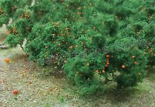 MP SCENERY 6 Orange Trees HO Scale Architectural Fruit Trees Railroad Layouts