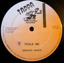 "Gregory Isaacs Tickle Me 12"" Lovers Tappa Zukie T.Z.101 b/w Sly & Robbie Version"