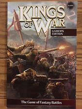 Kings Of War, 2nd Edition:Gamer's Edition Rulebook Soft Cover