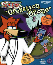 Spy Fox 3 Operation Ozone  Humongous Entertainment   New CD