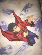 Harry Potter Vintage Twin Flat Sheet Quidditch