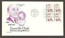 #1867 39c Grenville Clark - Artmaster FDCB4