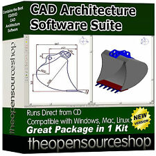 Architectural 3D modelling & cad suite dvd – conception assistée par ordinateur à son meilleur