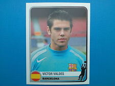 PANINI CHAMPIONS OF EUROPE 1955 - 2005 - N. 61 VALDES BARCELONA