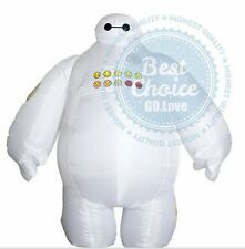 NEW Big Hero 6 Inflatable Baymax fancy suit costume cloth Baymax Mascot