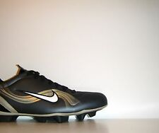 2002 Nike Mercurial Vapor I II FG Cleats Sz. 12 Black Gold Superfly III R9 CR7