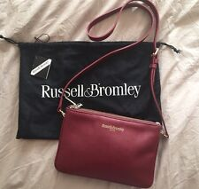 Russell & Bromley Belle Oxblood Trio Bag - Rare - Limited Edition