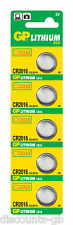 GP Batteries Button Lithium 3V CR2016 Size CR2016 - Pack of 10