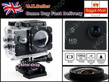 2.0 LCD 1080P 12MP  Waterproof Sports Cam DV Action Full 1080P Video DVR