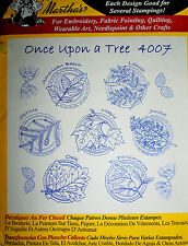 "Aunt Martha's Hot Iron On Transfer # 4007 "" Once Upon a Tree"""