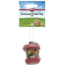 SUPERPET CHEW TOY CAROUSEL APPLE SMALL SUPER PET HAMSTER GERBIL MICE FREE SHIP