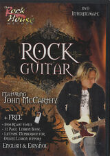 RRP 14.95 Rock Guitar Intermediate DVD Learn To Play Tuition Rock House Method