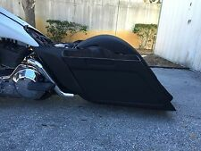 "custom 6"" down & out Stretched saddlebag & rear fender for touring bagger flh"