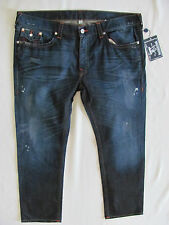 True Religion Skinny Flaps Jeans-Distressing/Oil-Camshaft-Size 44 L32 -NWT $282