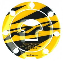FUEL TANK CAP DECKEL 3D COVER STICKER AUFKLEBER PROTECTOR CARBON LOOK HONDA YELL