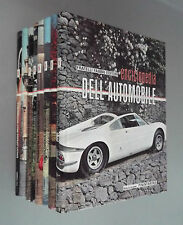 ENCICLOPEDIA DELL'AUTOMOBILE. 8 VOL. FRATELLI FABBRI EDITORI. 1968
