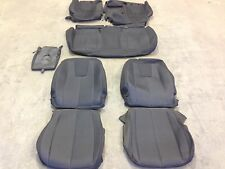 FACTORY OEM CLOTH SEAT COVER COVERS EBONY CHEVROLET EQUINOX TERRAIN 2010 2011