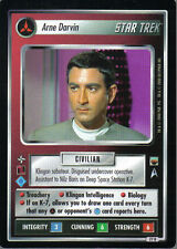 STAR TREK CCG TROUBLE WITH TRIBBLES RARE CARD ARNE DARVIN