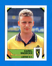 FOOTBALL 95 BELGIO Panini -Figurina-Sticker n. 210 - K. SNOECKX - LIERSE -New