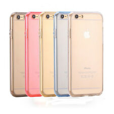 "Transparent -gold 360 Protective Clear Case Cover for iPhone 6/6S 4.7"" KSUK"