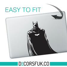 Batman Macbook Stickers on black vinyl | Laptop stickers | Macbook Decals