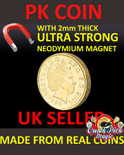 SUPER STRONG MAGNETIC £1 - ONE POUND MAGNETIC - MAGIC TRICK COIN