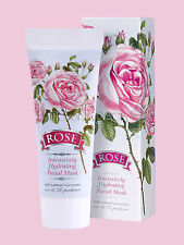 ROSE INTENSIVELY HYDRATING FACE MASK WITH NATURAL BULGARIAN ROSE OIL