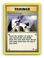 Trash Exchange 126/132 Common Trainer Gym Heroes Unlimited Pokemon Cards M~NM