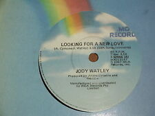 "JODY WATLEY *RARE 7"" 45 ' LOOKING FOR A NEW LOVE ' 1987 VGC+"