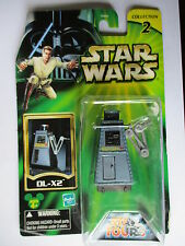 1/18 3.3/4 10cm STAR WARS BLISTER STAR TOURS 2002 DROID DL-X2