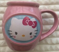 Hello Kitty Sanrio Pink Coffee Mug Double Sided Cup