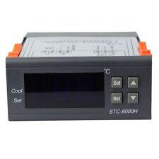 Neuf 220V Numérique LCD Capteur Contrôle De Température Contrôleur Avec Alarme