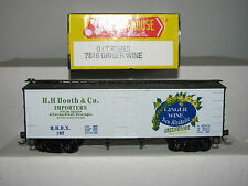 Roundhouse HO scale 7816 Truss Reefer Ginger Wine H.H. Booth Co Importers